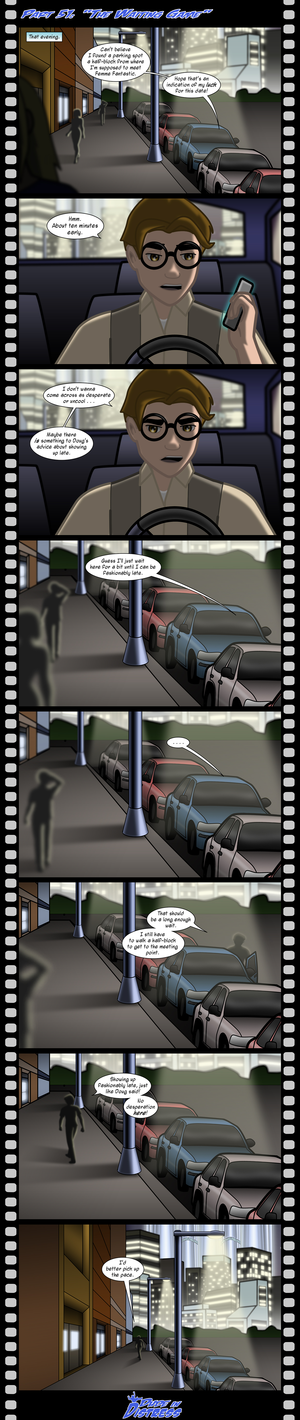 Dude in Distress Strip 51